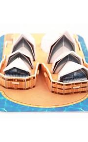 miniature Sydney Operahus 3 d tegning model