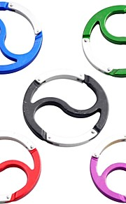 Multifunctional Yin And Yang Carabiner Buckle Quick Release Hang Buckle Keychain (Random Color)