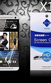 HTC 1 / M7用ダスト吸収剤のHDスクリーンプロテクター(10個)