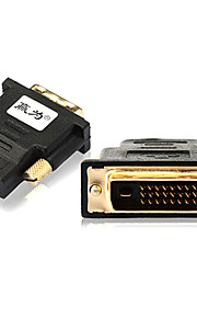 0.1M 0.328FT DVI Male to HDMI Female Gold-Plate HD Computer TV Connection Adapter