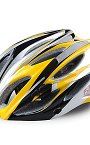 FJQXZ Women's / Men's / Unisex Mountain / Road Bike helmet 23 Vents Cycling Cycling PC / EPS Yellow / Others