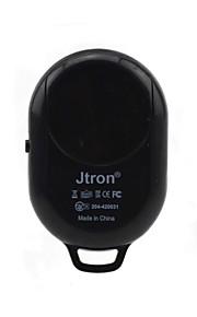 jtron obturador remoto com suporte de tripé para ios / android - preto