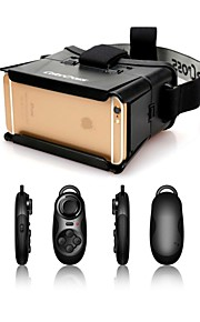 "ColorCross Universal Virtual Reality 3D Video Glasses+Multi-Functional Bluetooth Controller for iPhone/4~7"" Smartphones"