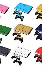 B-Skin® PS3 Slim 4000 3D Carbon Fiber Console Protective Sticker Cover Skin Controller Skin Sticker