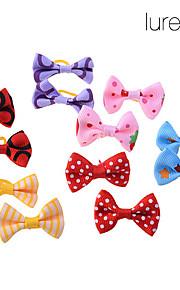 Acessórios de Cabelo - Todas as Estações - Vermelho / Azul / Rosa / Amarelo / Púrpura Algodão - para Cães / Gatos