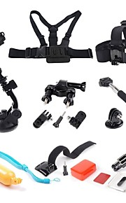 Accessories For GoProMonopod / Gopro Case/Bags / Screw / Buoy / Suction Cup / Adhesive Mounts / Straps / Hand Grips/Finger Grooves /