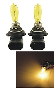 2PCS Carking™ KOBO 9005/9006 550LM 3000K Yellow Light Car Halogen Headlight(DC 12V)