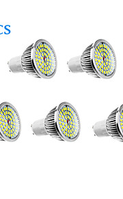 GU10 - 6 Spotlights (Warm White/Natural White 610 lm- AC 100-240 V- 5 stk