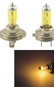 KOBO H7 12V 100W 3000K 550LM Yellow Light Car Halogen Headlight(2 CPS)