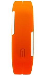 relógio relógio de moda unissex cor cinta jelly silicone levou pulso display (cores sortidas)