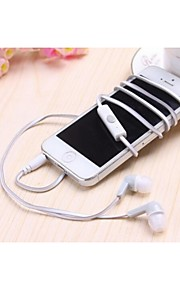 MC-25 Style Candy Double-Color Noodles In-Ear Headphoness for iPhone and Others (Assorted Colors)
