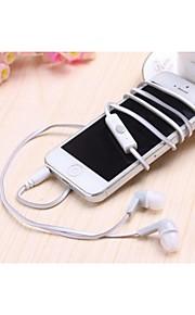 MC-25 конфеты типа двойной цвет лапша в ухе headphoness для Iphone и других (разных цветов)