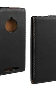 코코는 노키아 루미아 830 영화와 USB 케이블과 스타일러스 초 고체 정품 플립 가죽 케이스를 fun®