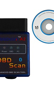 UGOCOM A2 ELM327 Vgate Scan Advanced OBD2 Bluetooth Scan Tool(Support Android And Symbian) Software V2.1