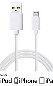 IFM cavo lightning 3.3ft cavo / caricatore 1m / cavo di sincronizzazione per il iphone 6/6 plus / 5s / 5 / ipad aria / ipad mini 2/3 / ipod nano 7