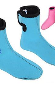 DiveSail 3mm Neoprene kids Winter Swim Snorkeling Scuba Diving Socks Boots Wet Suit  Warming Non-slip Shoes For Children
