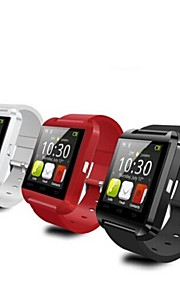Tecnologia Vestível - Relógio inteligente Bluetooth 4.0 -Chamadas com Mão Livre/Controle de Mídia/Controle de Mensagens/Controle de