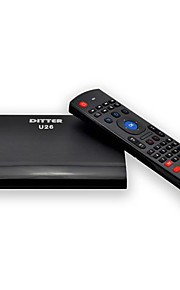 TV Box + Air Mouse - DITTER - Plastic - Quad Core - Android 4.4 - 4GB NAND Flash - 512MB - Cortex A7