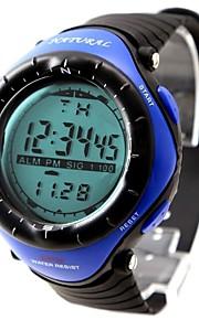 Relógio Esportivo (Cronógrafo/Resistente à Água) - Digital