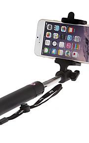 forlænges trådløse Selfie stick kamera stativ monopod til mobiltelefon (inkluderet iphone 4 5 6 samsung lg)