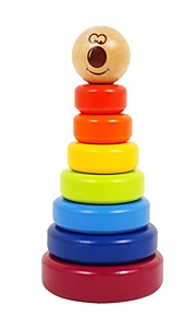 benho birketræ regnbue stabler træ uddannelse barn legetøj
