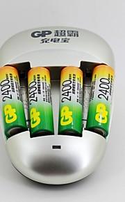 GP - Ni-MH - Aa - Batterij - 2400 - ( mAh ) - 4 - pcs
