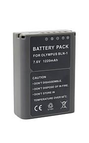 BLN-1 - Li-ion - Batterij - voor for Olympus  OM-D E-P5 EP5 E-M5 EM5 - 7.4V - ( V ) - 1220mAh - ( mAh )