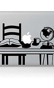 pulten utforming dekorative hud klistremerke for MacBook Air / pro / pro med retina-skjerm