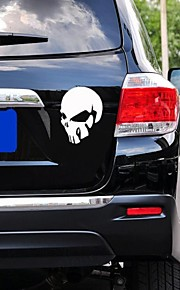 Car Stickers with Devil Skull Car Styling