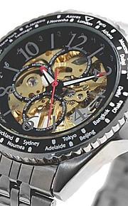 Relógio Elegante (Resistente à Água/Gravação Oca) - Analógico - Quartz