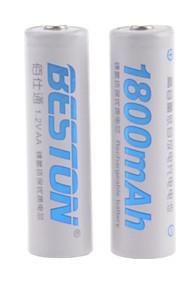 BESTON - Ni-CD - Aa - Batterij - 1800mAh - ( mAh ) - 2 - pcs