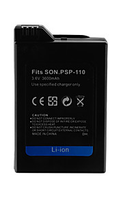 3600mAh camera batterij pack voor Sony PSP-110