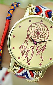 estilo étnico original relógios balão as novas mulheres requintados tecidos à mão dreamcatcher DIY