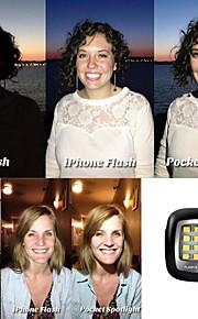 16led mini bærbar magtfulde nat ved hjælp Selfie øge flash LED lys til iOS / Android / wp8.0 / Selfie / kamera
