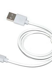 IFM D8 8 pin lampo maschio a USB 2.0 maschio per il iphone iphone 6 6 più iphone 5 / ipad aria / ipod (100cm)