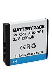 KLIC-7001 - Li-ion - Batterij - voor for   KODAK M1063 M1073 IS M320 M340 M753 M763 M853 M863 M893 IS V550 V570 V610 - 3.7V - ( V ) -