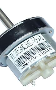40mm dc 12v 50 rpm højt drejningsmoment elektrisk gearkasse motor