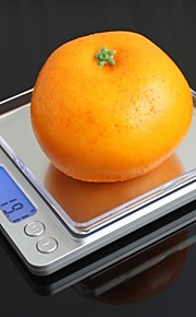 "I-2000 1.7"" LED Digital Kitchen Desktop Scale(2 x AAA / 2000g / 0.1g)"