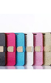 cinturón de brillo tarjeta de galvanoplastia taladro caja de la PU con el soporte forhtc uno (m9) (colores surtidos)
