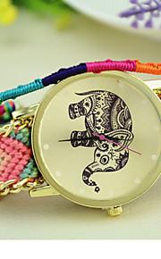 elefante tecelagem nacional Coréia do Sul cadeia estilo moda feminina relógio diy