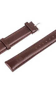 t-38 sostituzione cinturino in pelle classico per la vigilanza mela intelligente 38mm