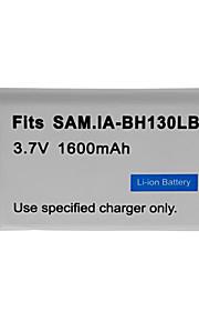 1600mAh camera batterij voor Samsung SMX-C10, SMX-C20, SMX-C24,