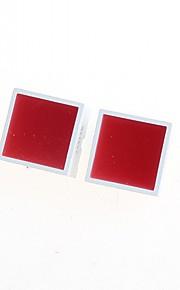 15 * 15MM Red Flat Tube(2pcs)