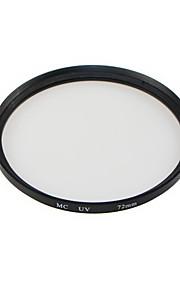 GPE 72mm mc-uv flerlagede coatede filtre til canon nikon
