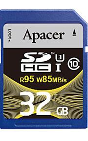 Apacer uhs-i cartão SDHC de 32GB de memória u3 class10 R95 / W85