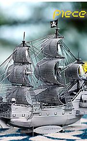 3d estéreo piratas do enigma do metal diy modelo de brinquedo quebra-cabeça de adultos rainha vingança de Anne.