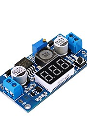 DC-DC Booster Module Digital Voltage Meter Digital Display LM2577S Boost 3A Output (E3B2)