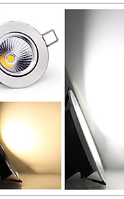 3W Taklys Innfelt retropassform COB 300-350 lm Varm hvit / Kjølig hvit Dimbar AC 220-240 / AC 110-130 V 1 stk.