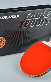 Winmax® 1 Star Single Table Tennis / Ping-Pong  Racket Short Handle with A Color Packing Box