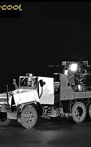 m35 caminhão defesa aérea 3d brinquedos carros modelo de metal sólido montados quebra-cabeça quebra-cabeça filhos adultos